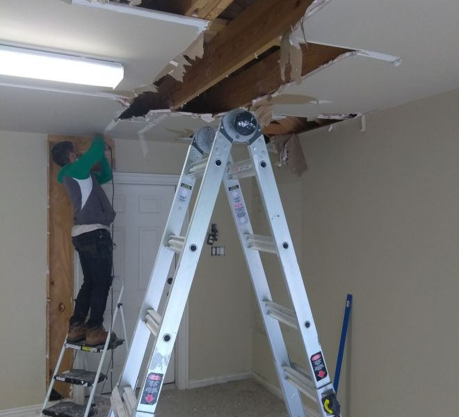 Flawless Sheetrock Repairs